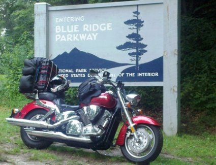 Start Of The Blue Ridge Parkway