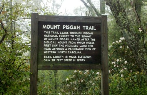 Pisgah Trail Head