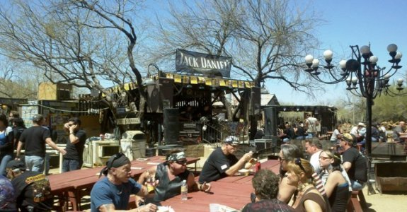 Party At Greasewood Flat