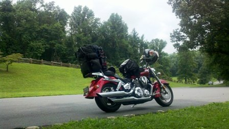 Stopped Somewhere On The Blue Ridge Parkway
